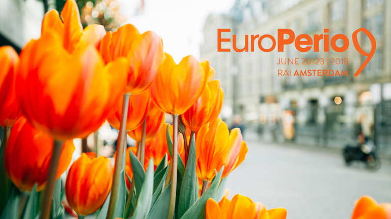 europerio logo and flowers